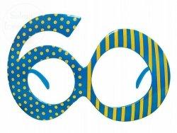 Okulary party 60 lat 1 szt OKR9-60