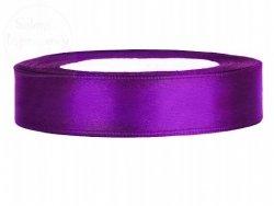 Tasiemka satynowa purpurowa 12mm TS12-062
