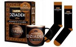 Kubek + skarpety SUPER DZIADEK