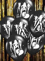 Balony czarne  Seksowne balony... na kawalerski