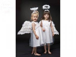 Sukienka aniołek z tiulem 2 latka 1szt CTM3