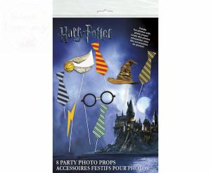 Rekwizyty fotobudka Harry Potter 8szt