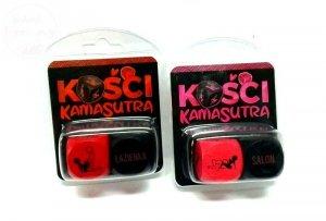 Kości KAMASUTRA z pozycjami