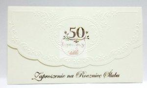 Zaposzenie na 50 Rocznicę ślubu 1szt