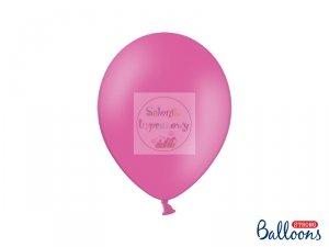 Balony 12 cali pastelowe ciemnoróżowe 1szt