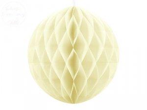 Kula bibułowa j. kremowy 40 cm