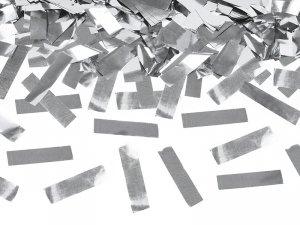 Tuba stzrelająca srebrnym konfetti 40cm