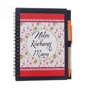 Notatnik Kochanej Mamy z długopisem