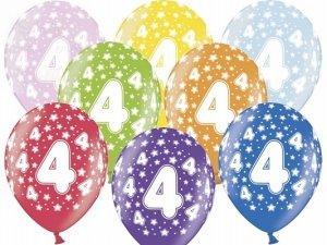Balony 14 cali mix kolor metalik 4