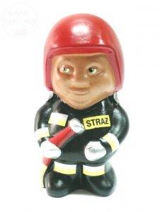 Skarbonka  ceramiczna Strażak mały 1szt