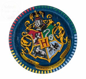 Talerzyki 18cm - Harry Potter 8szt