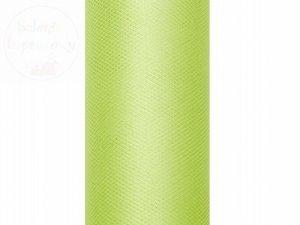 Tiul gładki jasno zielony 0,3 x9m 1szt