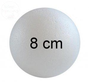 Kula styropianowa średnica 8 cm