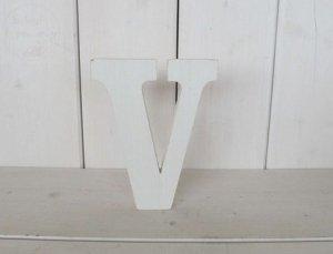 Litera drewniana wys. 18 cm V 1szt