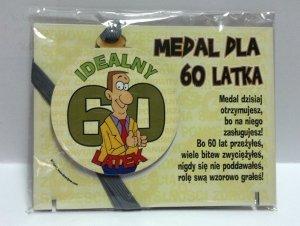 Medal podstawka dla  60-latka
