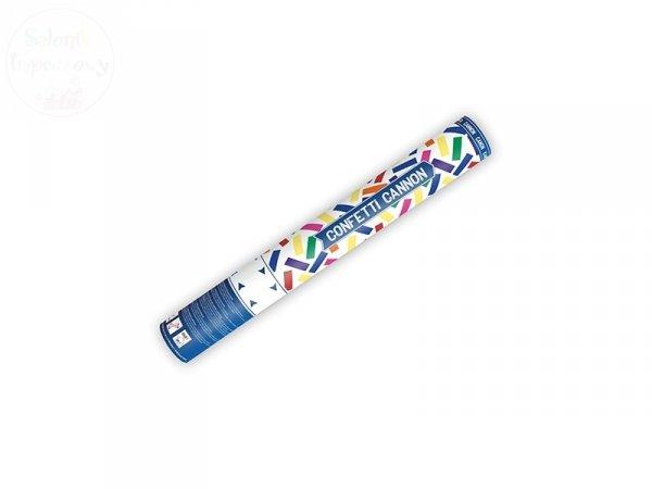 Tuba strzelająca kolorowym konfetti 40cm