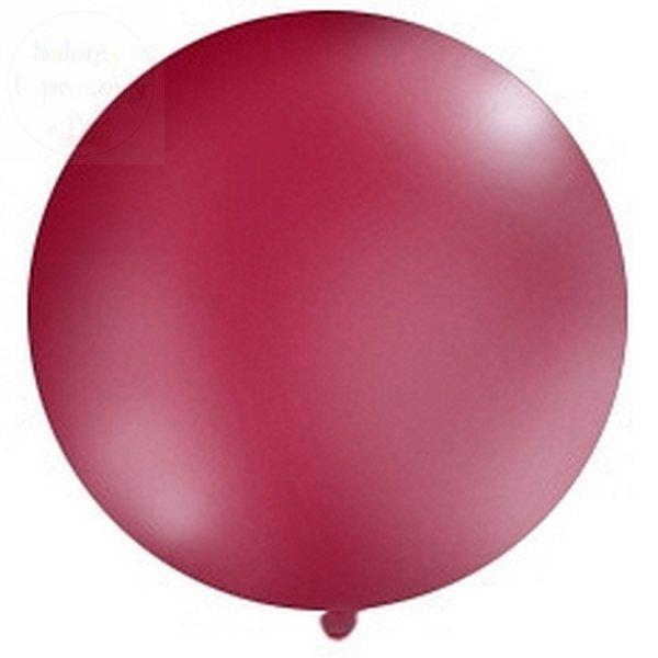 Balon 1 metr pastel bordowy 1szt OLBO-024