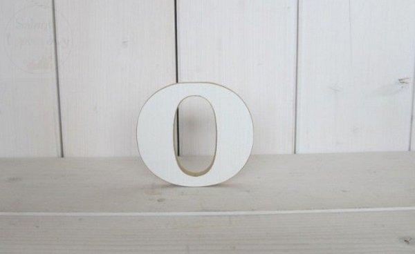 """Litera drewniana wys. 18 cm """"O"""" 1szt"""
