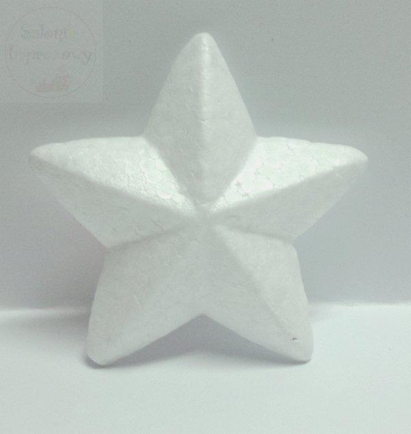 Gwiazdka styropianowa 12