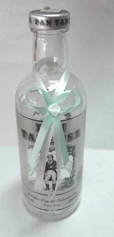 Zawieszki na alkohol miętowo-białe 10szt