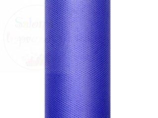 Tiul na szpulce w kolorze granatowym  15cmx9m