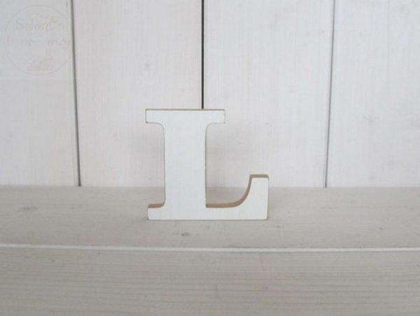 """Litera drewniana wys. 18 cm """"L"""" 1szt"""