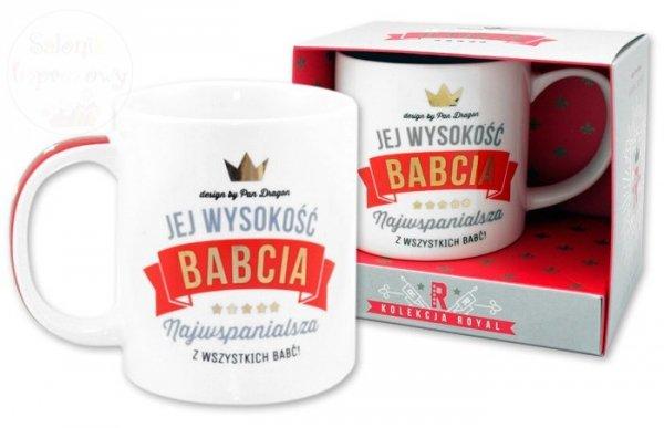 Kubek Jej Wysokość BABCIA - 300 ml