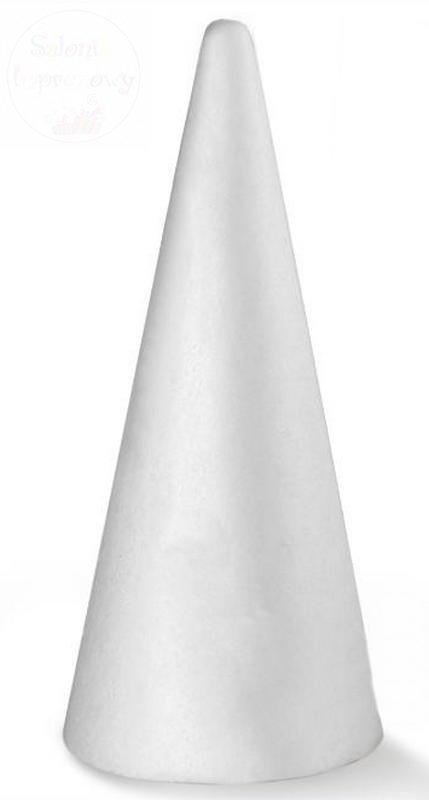 Styropianowy stożek 190 mm