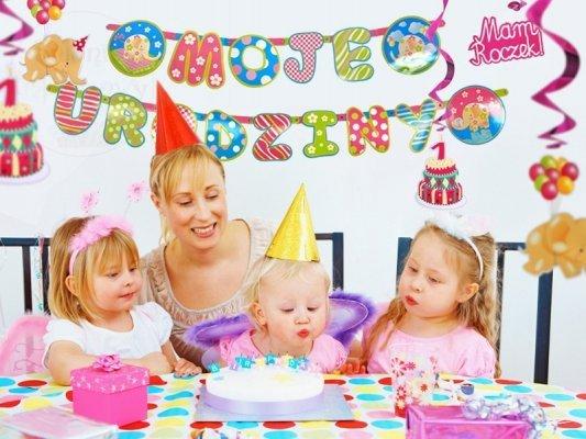 Baner girlanda urodzinowa moje urodziny GRL1