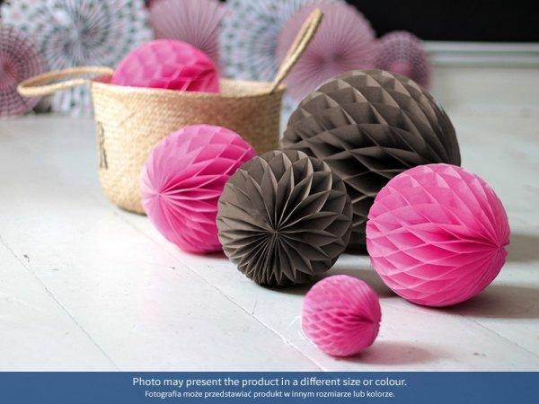 Kula bibułowa różowa  30 cm