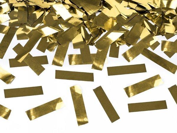 Tuba strzelająca złotym metalicznym konfetti 40cm