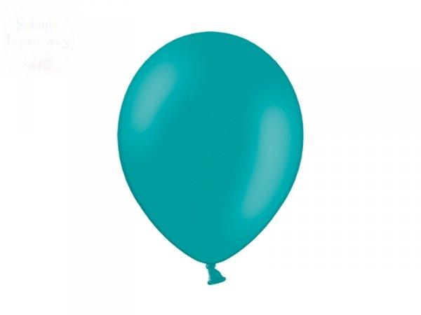 Balony pastelowe 10 cali ciemny turkusowy