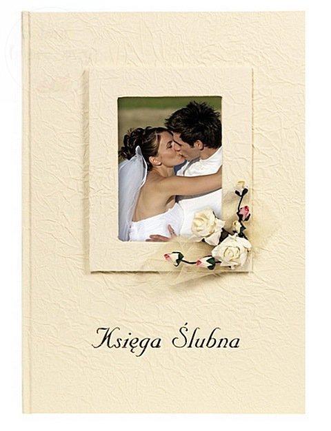 Księga gości weselnych z miejscem na zdjęcie KWP6