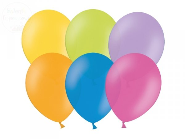 Balony mix kolor 12 cali pastel
