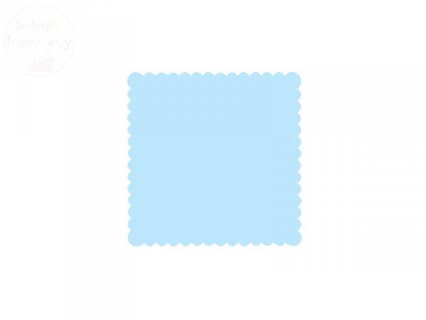 Serwetki 1 warstw 15x15cm błękit 200szt