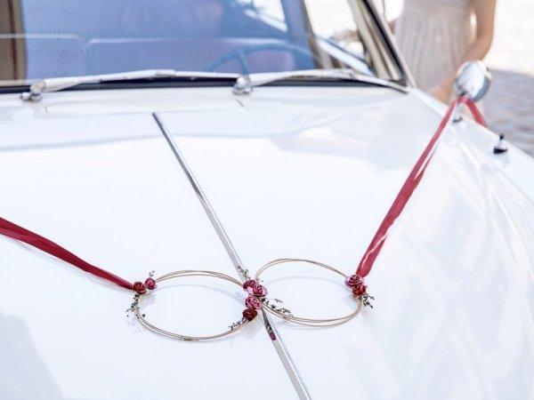 Zestaw wianuszków dekoracyjnych na samochód