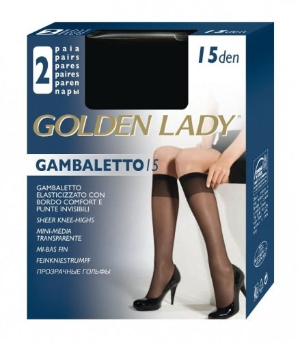 Podkolanówki Golden Lady Gambaletto 15 den A'2