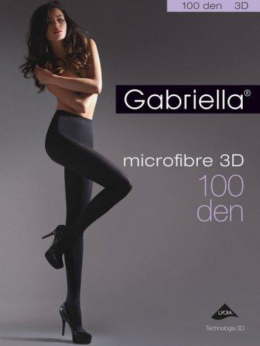Rajstopy Gabriella Microfibre 3D 119 5-XL 100 den