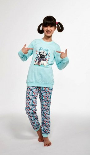 Piżama Cornette Kids Girl 594/116 So Cute dł/r 86-128