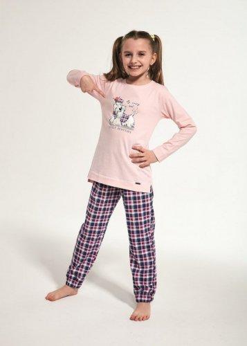 Piżama Cornette Young Girl 781/113 Scottie dł/r 134-164