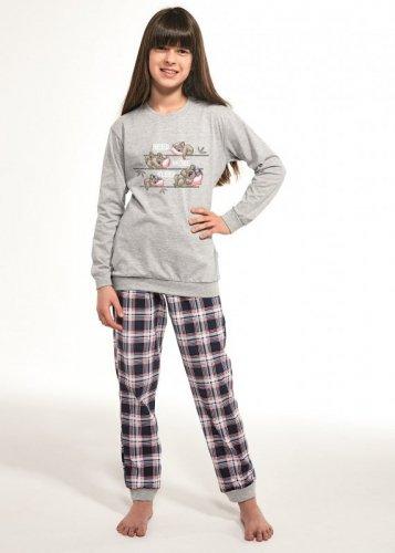 Piżama Cornette Young Girl 592/117 Koala dł/r 134-164