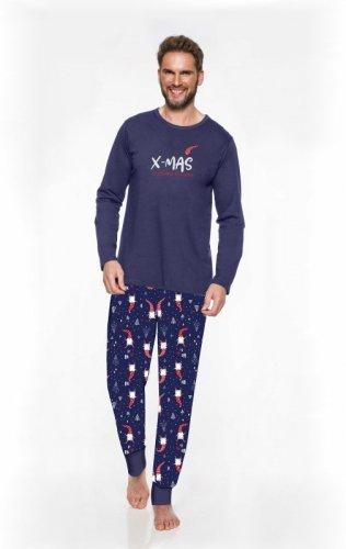 Piżama Taro Świąteczna 2358 dł/r M-2XL męska '20
