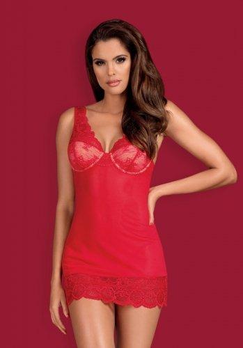 Koszulka Obsessive 853-CHE-3 Czerwona