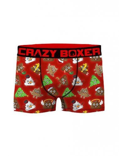 Bokserki Crazy Boxer Xmas ASS 2