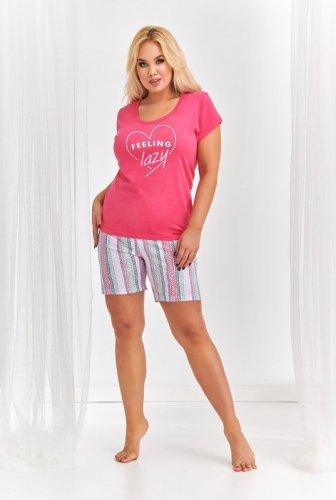 Piżama Taro 2381 Kasia kr/r 2XL-3XL 'L20