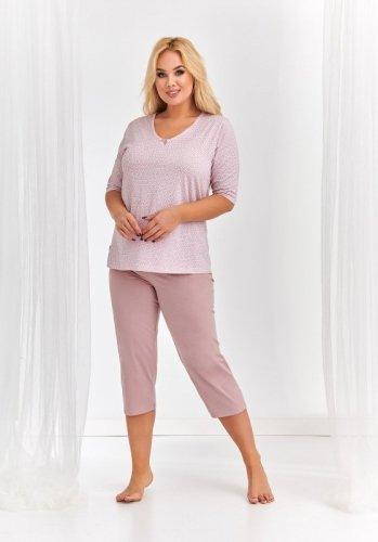 Piżama Taro 2372 Lidia kr/r 2XL-3XL 'L20