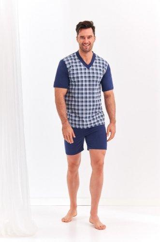 Piżama Taro Roman 001 kr/r 2XL-3XL 'L20