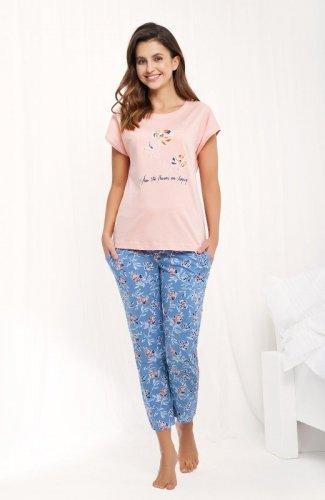 Piżama Luna 484 kr/r M-2XL damska