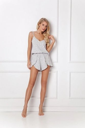 Piżama Aruelle Feline Short