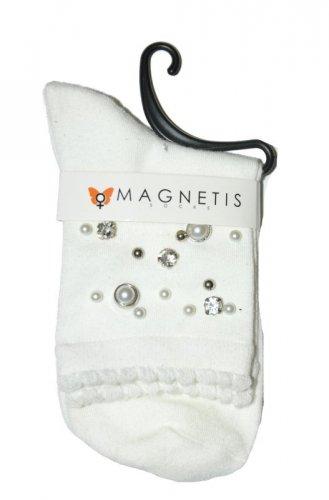 Skarpety Magnetis 3020 Cyrkonie Perełki